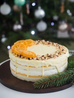 Torta od limuna s bijelom čokoladom i lješnjacima – like chocolate Torte Recepti, Kolaci I Torte, Frosting Recipes, Cake Recipes, Bun Cake, Torte Cake, Like Chocolate, No Bake Cake, Baking Recipes