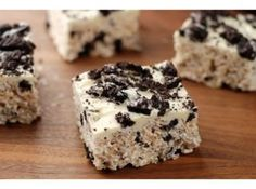 Cookies & Cream Rice Crispy Treats Recipe