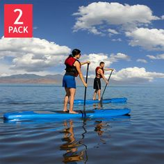 Lifetime 11' Amped Stand Up Paddle Board 2-Pack