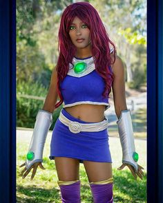 therealcosplayandcomics:    Repost from my partner page @cosplayofcolor   Continuing our #28DaysOfBlackCosplay features with @queenakemii seen here as #Starfire  Pic by @mykosplay   Be sure to check out my partner pages:  @Cosplay_Only   @Cosplay.and.Comics   @Cos.Squad  @Cospeople  @BigBeautifulCosplayers   @VenomousGirls   @Nerdy_Girl_Nation   @Force_Girls   #cosplay #talent #cosplayer #cosplaylife #CosplayofColor #CosplayingWhileBlack #BlackCosplay #BlackCosplayer #POC #DC #DCComics #DCU…
