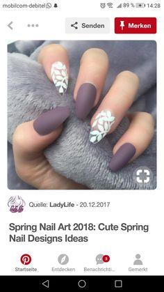 Colorful Nail Art, Pink Nail Art, Pink Nails, Silver Nails, Matte Nails, Acrylic Nails, Garra, Shoe Nails, Burgundy Nails