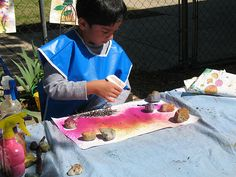outdoor art preschool