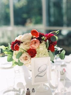 Pink Red and Ivory Centerpiece | photography by http://www.tracyenochphotography.com www.MadamPaloozaEmporium.com www.facebook.com/MadamPalooza