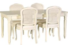 awesome cream painted dining furniture picture