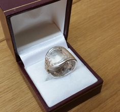 168 mm Besteckschmuck Silberbesteck Ring von BesteckschmuckBaron