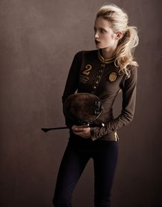 joules. love their kit. - nah i dont think such an anorexic bitch can ride a horse. you need you know... so called muscles for that shit