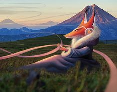 """Check out new work on my @Behance portfolio: """"The new fairy-tales of Kamchatka"""" http://be.net/gallery/59988207/The-new-fairy-tales-of-Kamchatka"""