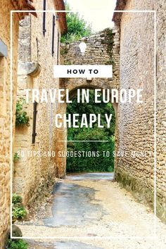 With so many different countries on a lot of people's bucket list, I've compiled a list 20 ways that you can travel Europe for cheap! I hope it will help you cut down a couple of Euro's here and there, and who knows, at the end of it, you might have saved so much money that you can extend your trip!