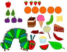Krafty Nook: The Very Hungry Caterpillar SVG Files