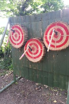 Image result for outdoor axe throwing range