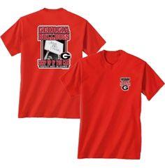 "New World Graphics Men's Georgia Bulldogs ""Grown Man Enough"" Red T-Shirt - Dick's Sporting Goods"