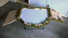 Naturnahe Hamstergehege: 2,7m² Traum-Eigenbau / 29ft square DIY dream cage
