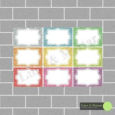 Hey, I found this really awesome Etsy listing at https://www.etsy.com/listing/228587156/glitter-half-squares-erin-condren