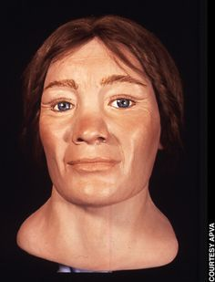 A recreated Jamestown woman's face from a skull found at Historic Jamestowne. Historical Artifacts, Historical Photos, Forensic Facial Reconstruction, Jamestown Colony, Body Cast, Anthropologie, Colonial America, Portraits, Facial Recognition
