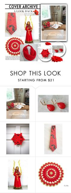 """""""❅ Red Christmas ❅"""" by oxysfinecrafts ❤ liked on Polyvore featuring Garcia"""