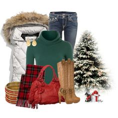 Comfy Cute for Christmas Contest 2, created by kginger on Polyvore