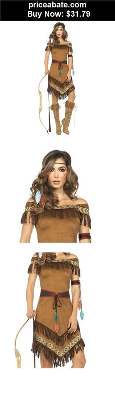 Women-Costumes: Pocahontas Costume Adult Indian Princess Halloween Fancy Dress - BUY IT NOW ONLY $31.79