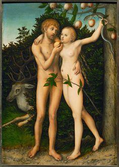 Lucas Cranach the Elder   The Fall (After 1537)   Artsy