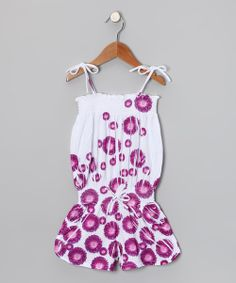 Take+a+look+at+the+Purple+Daisy+Romper+-+Toddler+&+Girls+on+#zulily+today!
