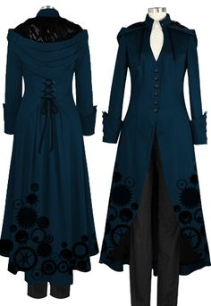 Victorian Coat --Brand Chic Star design by Amber Middaugh