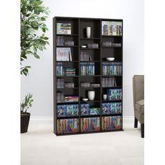 ATLANTIC - Media Cabinet - Espresso | Media cabinet, Espresso and ...
