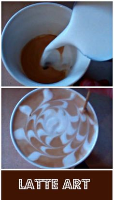For all the coffee geeks out there, get started with Latte Art with this video here. http://www.ifood.tv/video/how-to-make-a-latte