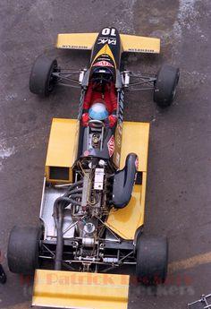 Alessandro Nannini - Minardi M283 BMW/Mader - Minardi Team Srl - XX Grote Prijs van Limborg 1983 - A nice look on the BMW M12 powerplant - I Fondly remember its melody in the streets of Pau