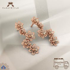 Because you can never go wrong with flowers…We suggest Rose Gold this swinter…