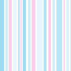 Blue & Pink Vertical Stripes