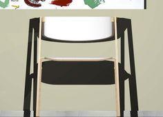 Sedia con braccioli adatta sia all'ambiente domestico che al contract. KOKO' ha una struttura in legno di betulla, alla quale è ancorato lo schienale realizzato in multistrato o compensato curvato, anche la seduta è stata pensata per essere realizzata in un unico foglio di multistrato curvato che aderisce e si unisce  alle gambe della seduta, Lo schienale e la seduta sono rivestiti con uno strato in ceramica colorata incollata. La struttura  in betulla è stata pesata per avere una finitura…
