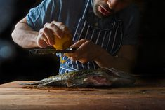 Learn to cook a whole fish to maximize flavor.