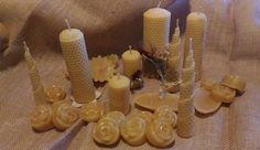 Candele handmade in purissima cera d'api.