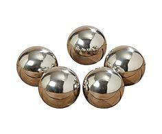 Набор из 5-ти декоратвных шаров Galaxy - металл, Ø5 см