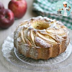 Pear cake with chocolate sauce - HQ Recipes Pear Recipes, Lemon Recipes, Cake Recipes, Lemon And Coconut Cake, Apple Cake, Cake Toppings, Savoury Cake, Clean Eating Snacks, Chocolate Recipes