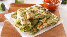 Broccoli Cheesy Bread horizontal