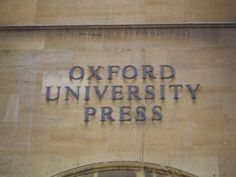 """Oxford University Press is located in the Jericho neighborhood of Oxford, just a 20 minute walk from Christ Church College & near the world-renowned Ashmolean Museum, 1 Wellington Square (headquarters of the Oxford Univ. Dept. for Cont. Ed.) and the Eagle & Child (old haunt of C. S. Lewis, J.R.R. Tolkien & their group, the """"Inklings"""")"""