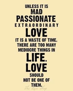 Extraordinary love is wonderful