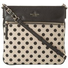 Sales Kate Spade New York - Cobble Hill Canvas Dot Ellen (Black/White) - Bags and Luggage new - Zappos is proud to offer the Kate Spade New York - Cobble Hill Canvas Dot Ellen (Black/White) - Bags and Luggage: Add some frisky fun to your playful ensemble with the Kate Spade New York Cobble Hill Canvas Dot Ellen at...