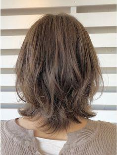 Pin on ヘアスタイル Medium Hair Cuts, Medium Hair Styles, Curly Hair Styles, Japanese Short Hair, Mullet Hairstyle, Shot Hair Styles, Haircut For Thick Hair, Hair Health, Hair Looks