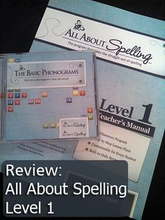 Review: All About Spelling - Level 1 | The Holistic Homeschooler