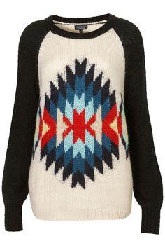 Aztec sweater !