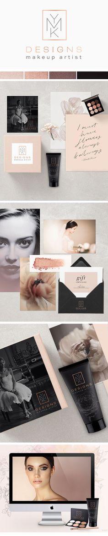 blush logo, blush branding, feminine branding, pink palette, elegant branding, elegant logo, feminine logo, peach palette, rose gold, rose gold, grey, pink, copper, palette