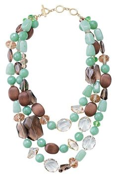 Turquoise and brown is one of my favorite color combos