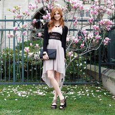 Check out Elegant Yet Casual Lace Accent Look by Jealous Tomato and Shelly   at DailyLook