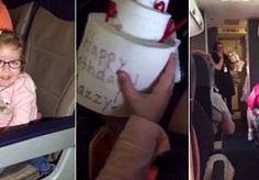 1-May-2015 11:56 - VERLAMD MEISJE (4) HEEFT DROOMVERJAARDAG IN VLIEGTUIG. Een verlamd meisje heeft in een vliegtuig een fantastische verrassing gekregen voor haar verjaardag. De passagiers van een vlucht van Southwest…...