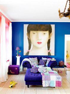 「 シャビーでカラフルなリビングルームのインテリア50 」の画像|賃貸マンションで海外インテリア風を目指すDIY・ハンドメイドブログ<paulballe ポールボール>|Ameba (アメーバ)