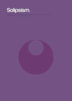 Minimalist Philosophical Theories, Solipsism