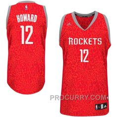 quality design 54249 0464b Dwight Howard Houston Rockets 12 Crazy Light Leopard Swingman Jersey,  Price 68.00 - Stephen Curry Shoes Under Armour Store Online