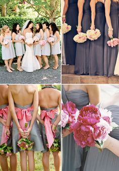 #Photo BMs with bouquets behind their backs... Wedding ideas for brides, grooms, parents & planners ... https://itunes.apple.com/us/app/the-gold-wedding-planner/id498112599?ls=1=8 … plus how to organise an entire wedding, without overspending ♥ The Gold Wedding Planner iPhone App ♥