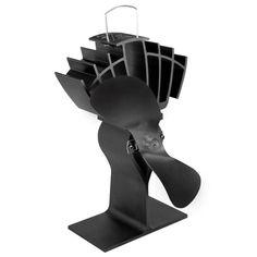 drolet sbi ac05520 wood stove blower fan 2 1 4 round opening caframo 810caxbx ecofan ultrair heat power wood stove fan black blade 810ca xbx